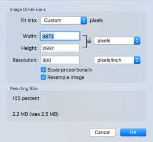 How to Resize Image