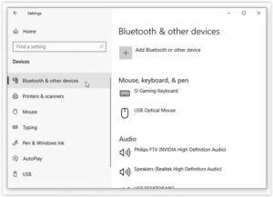Turn On Bluetooth in Windows