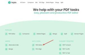 Edit A PDF File